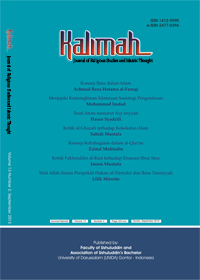 Jurnal Studi Agama-Agama dan Pemikiran Islam